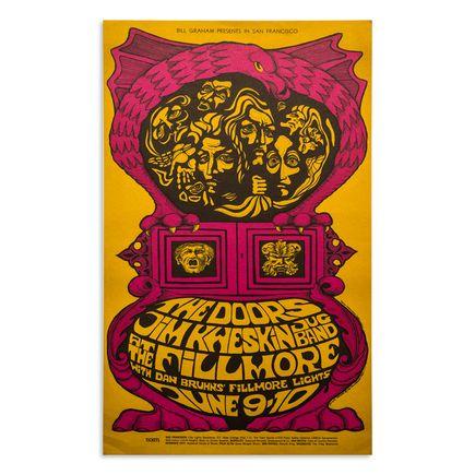 Bonnie Maclean Art Print - The Doors And Jim Kweskin - Fillmore West - 1967