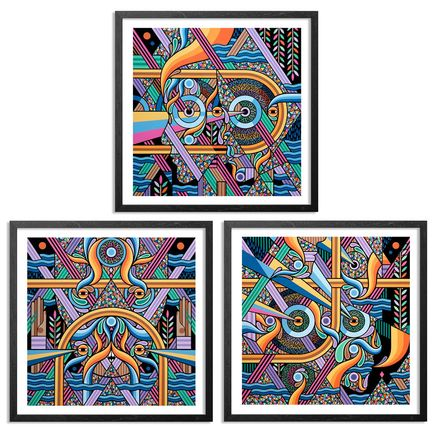 Beastman Art Print - 3-Print Set - Duality, Single Origin & Supernatural