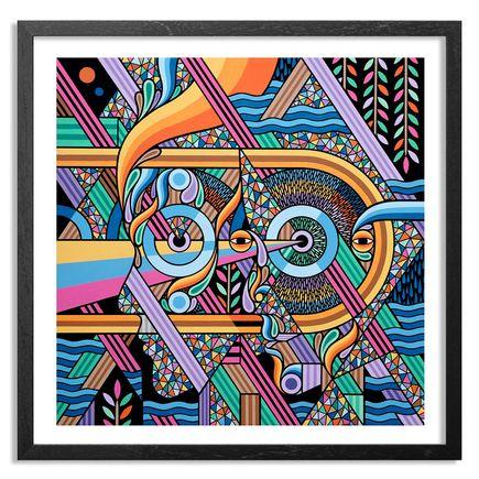 Beastman Art - Duality - Framed