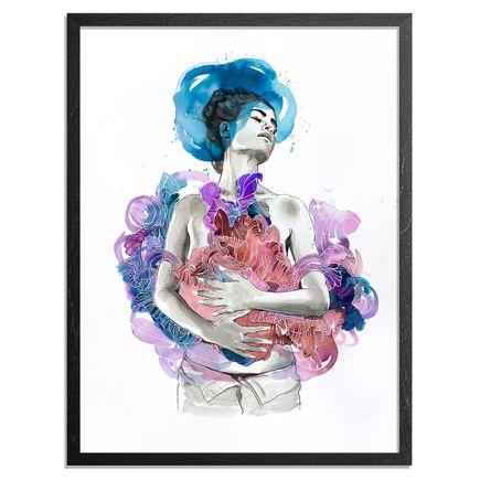 Brandon Boyd Art Print - Intuition - Variant II