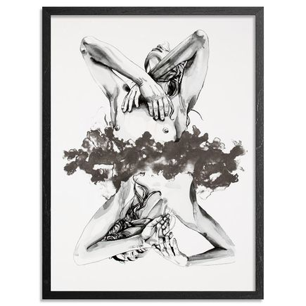 Brandon Boyd Art Print - Lauren In Transit - Standard Edition