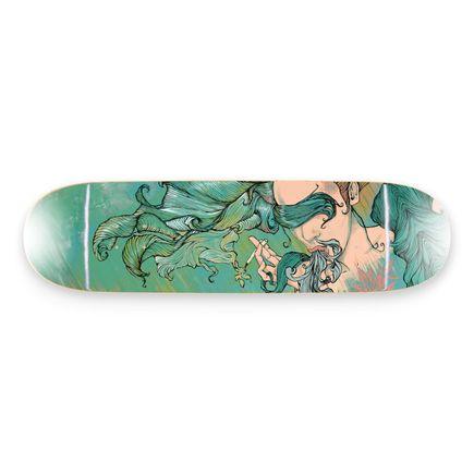 Brandon Boyd Art Print - Spilling/Spinning - Skate Deck Variant