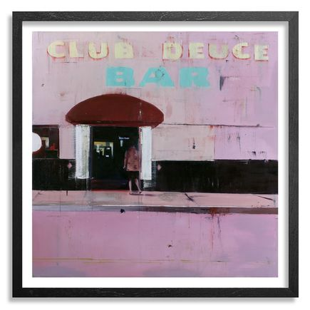 Brett Amory Art - Club Deuce - Framed