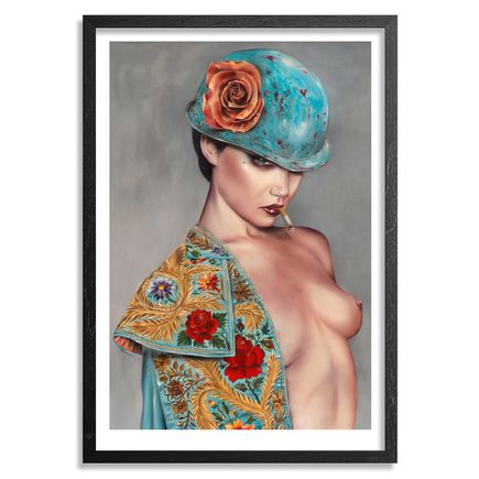 Brian Viveros Art - El Champion - Framed