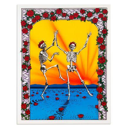 B. Campbell Art - Grateful Dead - Dancing Skulls