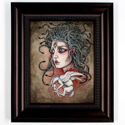 Caitlin Hackett Original Art - Child Of Medusa