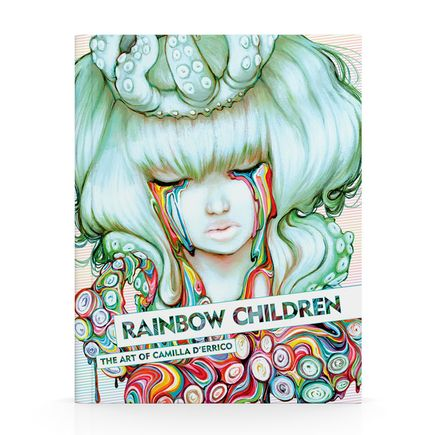 Camilla d'Errico Book - Rainbow Children: The Art Of Camilla d'Errico Vol. 3 Hand-Signed Artbook