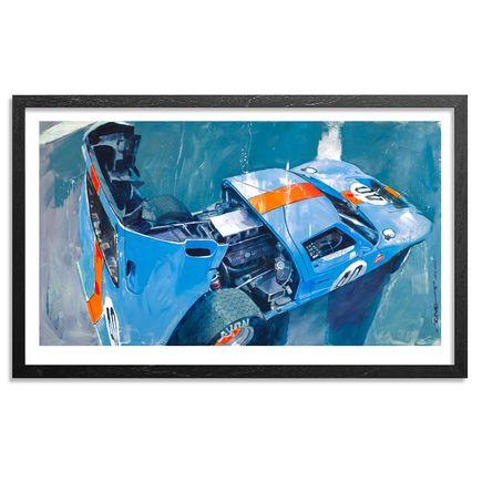 Camilo Pardo Art Print - Gulf GT40