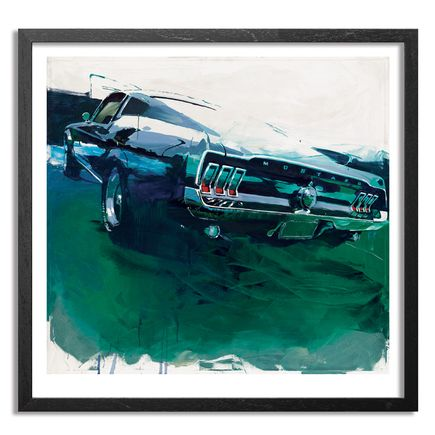 Camilo Pardo Art Print - 67 Mustang