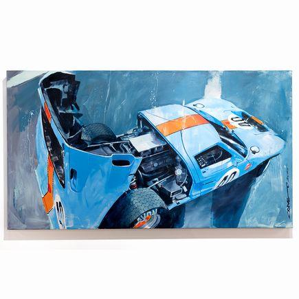 Camilo Pardo Original Art - Gulf GT 40