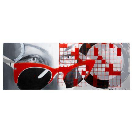 Camilo Pardo x Michelle Tanguay Original Art - Scarlet