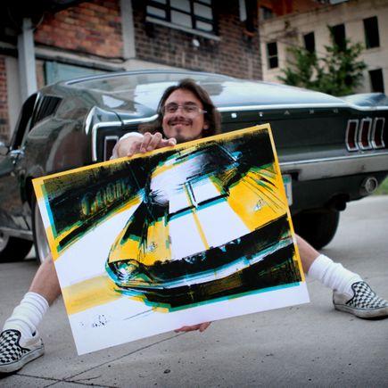 Camilo Pardo Art Print - GT350