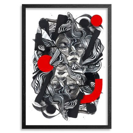 Caratoes Art Print - The Masks We Wear