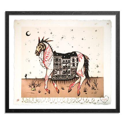 Caroline Caldwell Art Print - Hell Horse