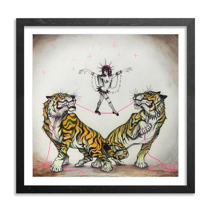 Caroline Caldwell Original Art - Tight Rope Walker - Original Sketch