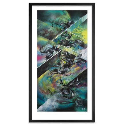 Hueman Art Print - Aurora