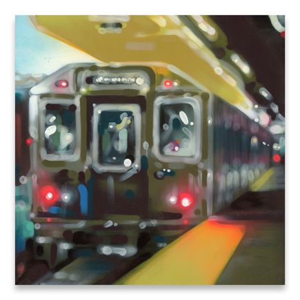 Case MacKeen Original Art - Davisville Station - Original Artwork
