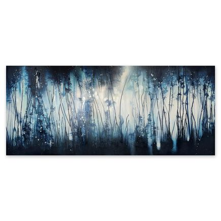 Case MacKeen Original Art - Drip Forest Indigo - Original Artwork
