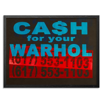 Cash For Your Warhol Art Print - CFYW Call Collect - Printer Select 3/5