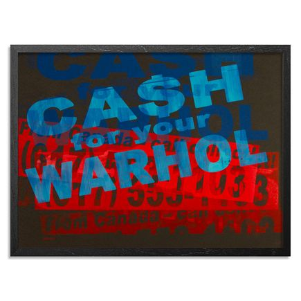 Cash For Your Warhol Art Print - CFYW Call Collect - Printer Select 5/5