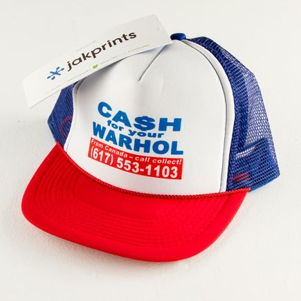 1xRUN Editions Art - Cash For Your Warhol - Trucker Hat