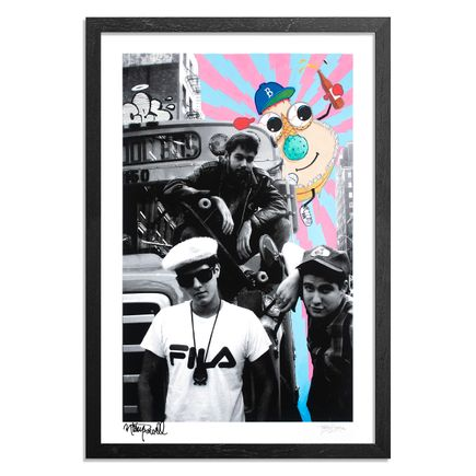 Ces Art Print - Cookiepussed - From My First Beastie Boys Shoot. May. 1986. NYC. - Framed