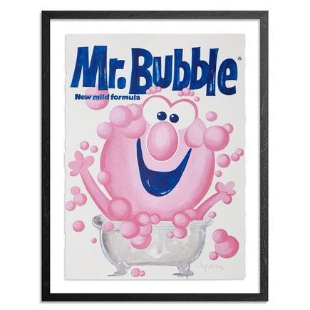 Cey Adams Original Art - Mr. Bubble