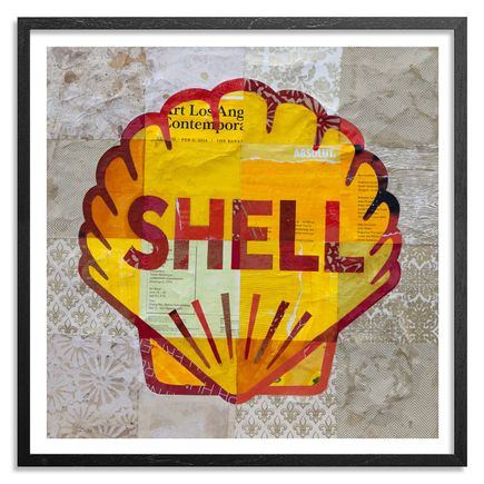 Cey Adams Art - Shell - Framed
