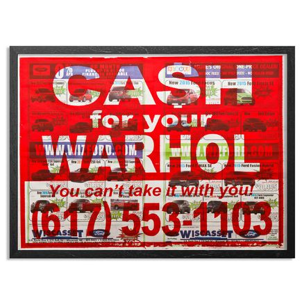Cash For Your Warhol Hand-painted Multiple - Complete Set - You Can't Take It With You - Hand-Painted Multiples