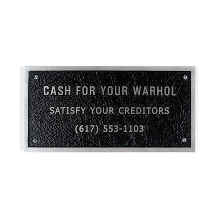 Cash For Your Warhol Art - Satisfy Your Creditors