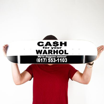 Cash For Your Warhol Art Print - Doggone Serious - Skate Day Variant