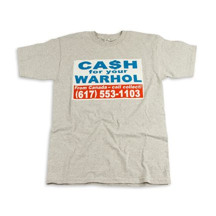 1xRUN Editions Art - XSmall - Cash For Your Warhol T-Shirt