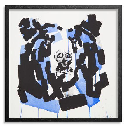 Chad Hasegawa Art Print - Rayne - Blue Edition