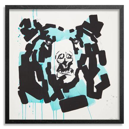 Chad Hasegawa Art Print - Rayne - Teal Edition