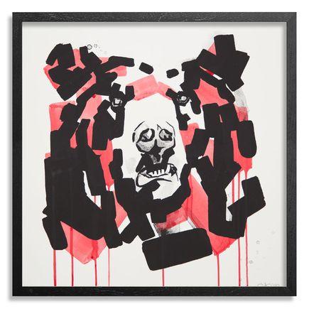 Chad Hasegawa Art Print - Rayne - Red Edition