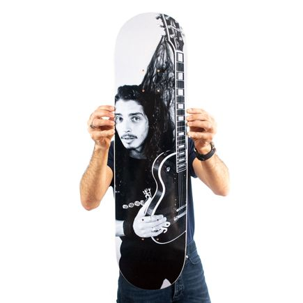Charles Peterson Art Print - Chris Cornell, Seattle, 1991 - Skate Deck Variant