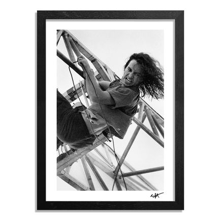 Charles Peterson Art Print - Eddie Vedder, Pearl Jam, A Drop In The Park, Magnuson Park, Seattle, 9/20/92