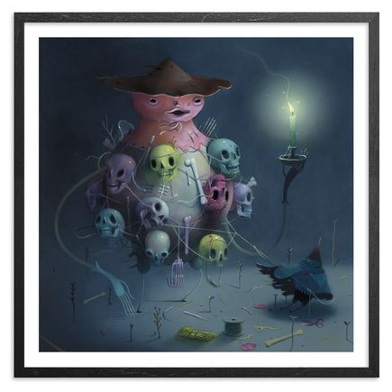 Charlie Immer Art Print - Bone Baron - Limited Edition Prints
