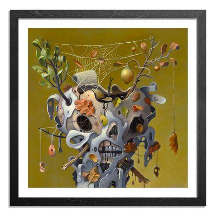 Charlie Immer Art Print - Wet Leaves