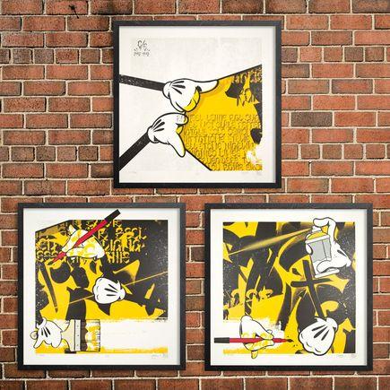 Slick x Chaz Bojorquez Art Print - C/S I, II & III - 3-Print Set