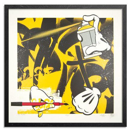 Slick x Chaz Bojorquez Art Print - C/S III