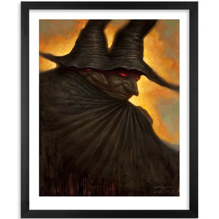 Chet Zar Art Print - Siamese Witches