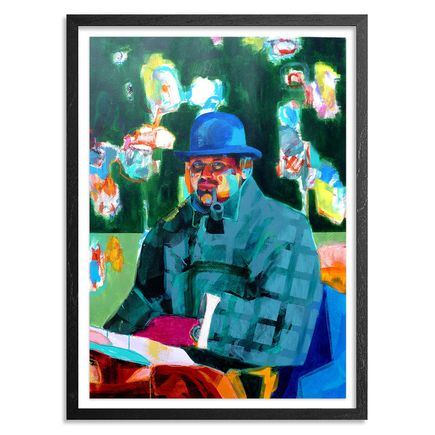 China Mike Art Print - A Distinguished Gentleman - Original Artwork