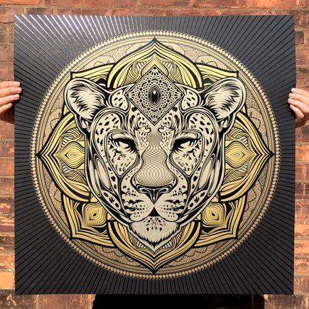 Chris Saunders Art Print - Jag Mandala