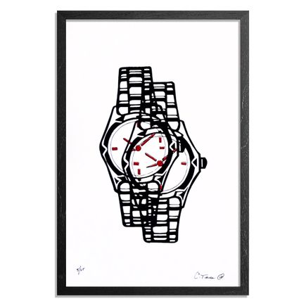 Chris Turner Art Print - Watch