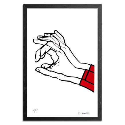 Chris Turner Art Print - Hand