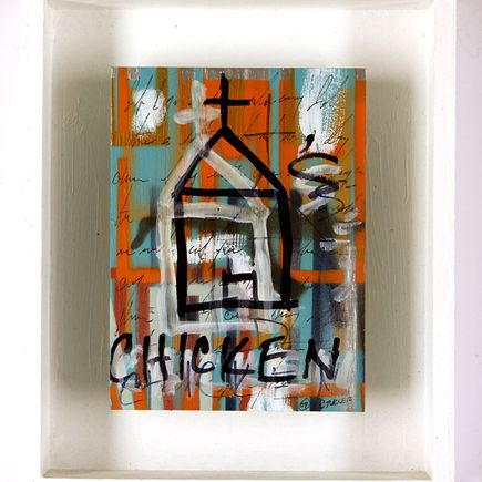 1xRUN Editions Original Art - Church's Chicken by Chris Turner