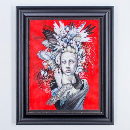 Christina Mrozik Original Art - The Goose Girl