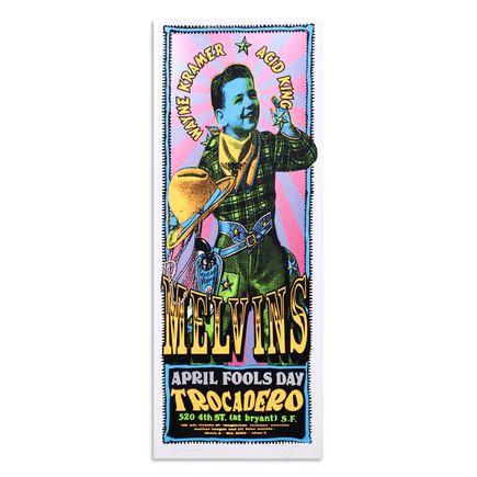 Psychic Sparkplug Art Print - Melvins Poster - San Francisco - 1996