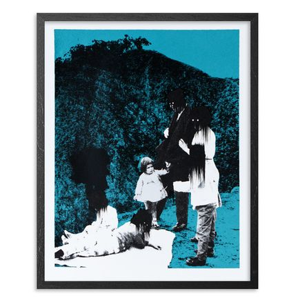 Ciler Art Print - Mala Influencia - Blue Edition